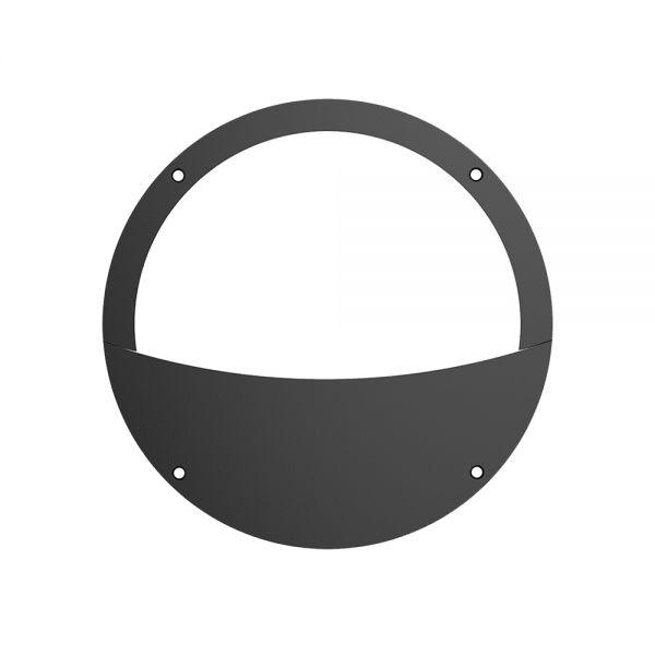 HUBLOT OSAKA DEMI-CERCLE 18W CCT 1080lm IP65 110° Ø275x68mm NOIR