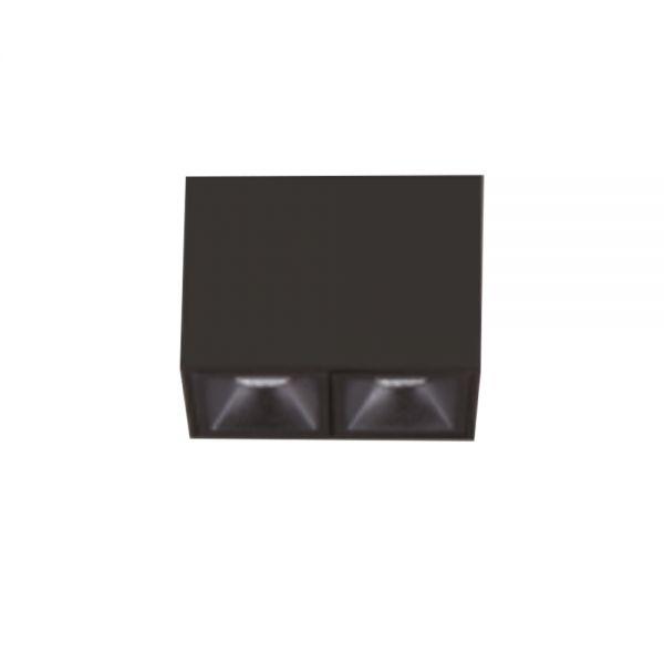 SPOT LATTICE PLAFONNIER 4W 240lm IP20 30° 65x34,5x80m NOIR