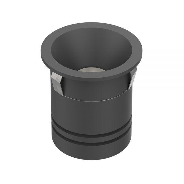 MINI SPOT 5W 500-550lm IP20 36° Ø50x62mm NOIR