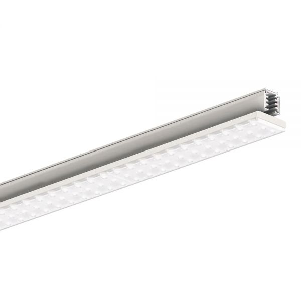 BARRE LED RAIL TRIPHASE 27W DIP (24 à 12W) BLANC 607MM